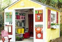 "She Shed Inspiration / ""She shed"" inspiration for those of you who are looking to re-claim the shed in your garden. / by Homebase"