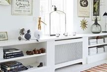 Radiator Cabinet Ideas / Transform your radiator into a beautiful feature within your home with plenty of quirky designs and styles to choose from, find your inspiration here.... / by Homebase