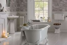 Bathroom Inspiration / Soak away the stresses of the day in a luxurious and relaxing stylish new bathroom. From bathroom suites to quirky bathroom design and storage ideas, let us inspire your transformation....
