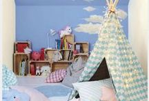 Kids Bedroom Ideas with Dulux / This summer holiday create a bedroom your child will love. Embrace their passion and creativity to transform their bedroom into an imaginative escape.  / by Homebase