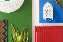 Get Confident with Colour... / Take a look at the six rooms we've created - each based on an inspiring photograph. You can see how each image translates into the finished room scheme and how fun and easy it is to put a successful room design together.