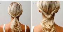 Håruppsättning ~ Hair style