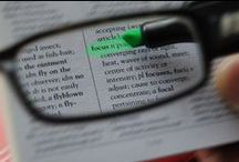 visual cues and perception  / Vision, visual perception, vision training, modifications, and treatment