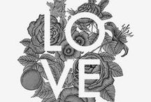 PRETTY GRAPHICS & DESIGNS / Graphic design and typography / by NINA « Love & Lemonade Photography