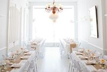 EAT, DRINK, & BE {MARRIED} / Wedding/reception decor / by NINA « Love & Lemonade Photography
