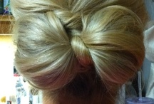 :: Hair Tips & Tricks :: / Chic, simple ways to pull your hair back for night or day!