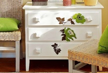 DECOR: Hand Painted Furniture / Gorgeous hand painted furniture and finds. Creative before and afters.