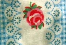ART: Patterns & Texture / pretty fabrics and patterns