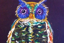 ART: Owls / Anything and all OWL ideas for your art room.