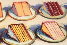 ART: Wayne Thiebaud / Project and inspiration board for artist, Wayne Thiebaud.