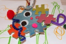ART: Upcycling Materials / water bottles, cardboard, tp rolls... great ideas to upcycle the recycles into art!