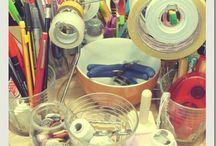 Craft room ideas / by Elaine Blake