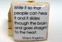 Novel / Take time to write every day.
