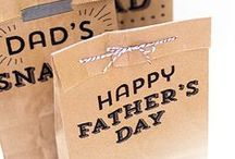 Father's Day Ideas / Food, crafts and gifts for the Darling Dad in your life... with love from #Knorr