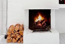 fireplace. / fireplace, mantle, fire place, cosy, living room, fire place ideas
