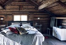 Old house: Attic / Collecting ideas for the attic in an old house.