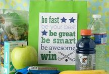 Team Mom 101 / Inspiring young athletes one goody bag at a time..