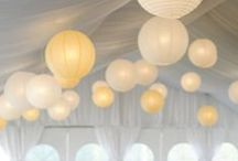   white on white   / Ideas for white weddings