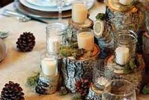   rustic wedding decorations   / Planing a rustic or woodland wedding? Browse these rustic wedding decorations / ideas and woodland wedding ideas.   At wwww.theweddingofmydreams.co.uk we have a large collection of rustic wedding decorations and woodland wedding decorations.