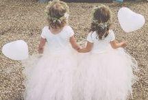   flower girls   / Cute ideas for flower girls at wedings