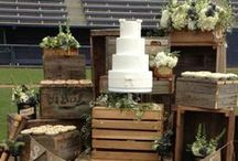   wooden crates at weddings   / Rustic wooden crates make wonderful props and styling areas at weddings. Stack up wooden apple crates to make tables, or create shelving. At The Wedding of my Dreams we sell rustic wooden crates and this board is filled with ideas on how to use them at your wedding.   See our wooden crates for sale here:  http://www.theweddingofmydreams.co.uk/products/large-wooden-crate-plain