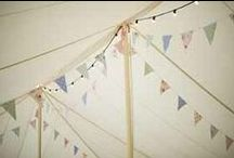   bunting for weddings   / Nothing says a summer wedding quite like bunting. On this board we are pinning our favourite images of bunting being used at weddings. If you like our inspiration board check out the bunting we have available http://www.theweddingofmydreams.co.uk/collections/bunting