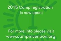 Register for Camp / Be a part of something BIG! Keep up with Camp Invention registration information here.