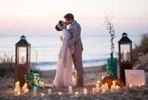   beach wedding ideas   / Getting married on the beach? Ideas and inspiration for beach weddings.