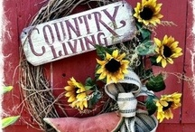 Country Living / by Barbara Burr