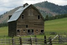 Barns 2 / for my horses and farms animals / by Barbara Burr