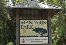 Mandarin Park / Located at 14780 Mandarin Rd., this 36-acre park has over two miles of hiking trails, river access, playgrounds, and more! / by JaxParks