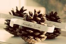   warm & cosy winter wedding   / Wedding decorations inspiration for winter weddings, how to create a warm and cosy feel at your wedding.