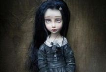 Dolls creepy & cute / by Melissa Partee