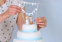   cake bunting cake toppers   / If you are looking for bunting cake toppers, we have collected our favourites on this board. If you like what we have pinned browse our collection of unusual wedding cake toppers  http://www.theweddingofmydreams.co.uk/collections/cake-toppers