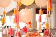   wedding tassel garlands   / Paper tassel garlands can look oh so pretty at weddings, whether they are hanging from large round balloons or as a garland backdrop. Below are some of our favourite ideas with tassel garlands at weddings.  Browse our collection of tassel garlands for sale in our online shop http://www.theweddingofmydreams.co.uk