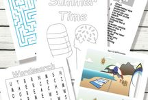 Printable Activities / Printable activities for Kids with year round ideas.