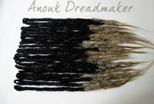 Dreadlock Tinkerer / Dreadlock and synthetic dreadlock techniques, methods, and maintenance. / by Ky Overfelt