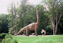 Connecticut's Roar Tour / This summer won't just be prehistoric at the movies; Connecticut visitors embark on a personal Roar Tour to discover big-time dinosaur fun, retrace the steps of Jurassic-era creatures and enjoy bites and sites that are truly still revolutionary.    / by Visit Connecticut