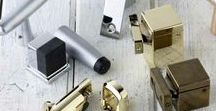Door Hardware / This section has products for single and multi-application on Doors and Windows that Swing, Slide or Bi-fold