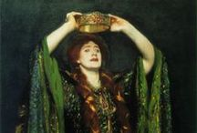 Dame EllenTerry / Pictures and portraits of Ellen Terry, great Victorian actress / by Leslie Healey