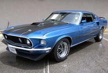 """CARS, Trucks, Motorcycles, Airplanes and Helicopters!  / My husband and I owned a 1968 GTO and a 1969 Mach 1, and then we had kids...we're still dreaming of muscle cars! I think I became obsessed with all forms of transportation at a very young age. From the lawn mower to tractors, 2-ton trucks, boats, motorcycles, and snow mobiles, I drove it! My dad was a pilot, and I went flying before my first birthday. Later I joined the Air Force and worked with weapons on aircraft. """"I feel the need, the need for speed!"""" ;) / by Ronda"""