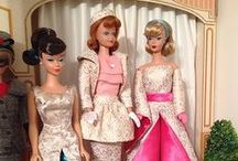 """Barbie and other dolls / Blythe, Barbie, Fashion Royalty, Integrity, Silkstone, 10-12"""" Dolls, etc. I know Barbie's image is controversial, but I loved my Barbies and their clothes, and decorating rooms for them. And no, I never thought """"I wish I had Barbie's body.""""  Maybe her clothes, cars, houses, or careers, though!  ;)  This board also features other """"fashion size"""" dolls and unique and beautiful artisan dolls and wonderful doll fashion. Enjoy! / by Ronda"""