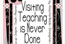 Church - Visiting Teaching / by Debbie Overall