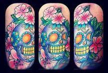 Skulls, Sugar Skulls, Day Of The Dead