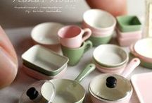 Miniature KITCHEN ACCESSORIES / Miniature Appliances, dishes, etc. / by Ronda