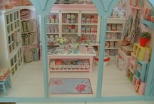 Miniature MISCELLANEOUS SHOPS / Miniature stores and store displays / by Ronda