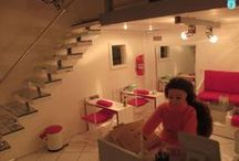 Miniature SALONS and SPAS / by Ronda