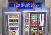 Miniature PET STORES, Pets, Animals / by Ronda