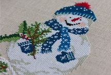 Cross Stitched Christmas