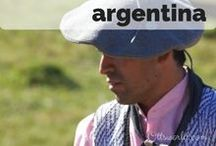 Destination: Argentina / Destination: Travel to Argentina. Buenos Aires, tango, Patagonia and the southern most city in the world.